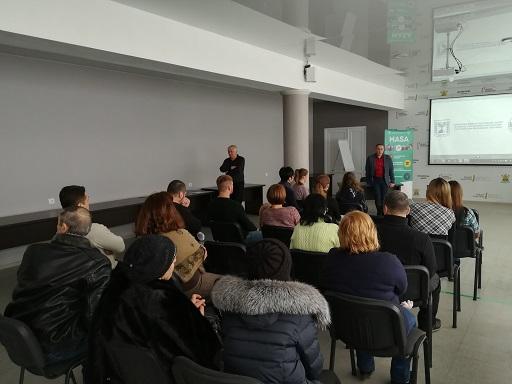 Встреча в Мелитополе - рассказ о долгосрочных академических программах обучения в израильских вузах