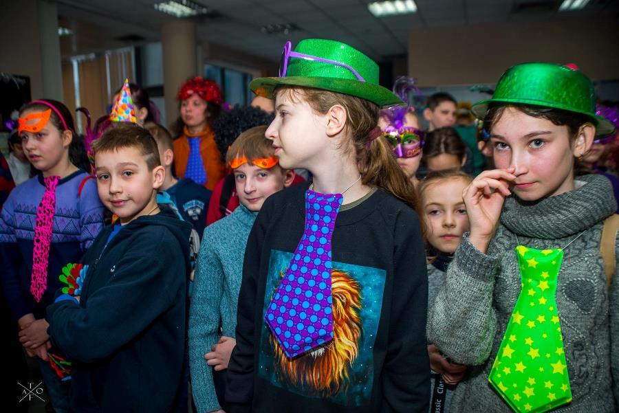Футуристический Пурим в Израильском культурном центре Харькова