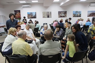 Интеллектуальное кафе в ИКЦ Киева
