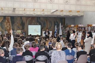 День Израиля в Национальной детской библиотеке Украины