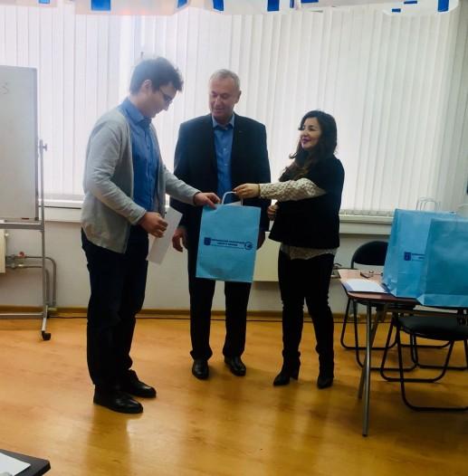 Вручение дипломов выпускникам ульпана в ИКЦ