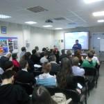 Борис Белодубровский приветствует участников семинара