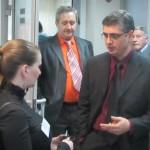 Борис Ханукаев продолжает отвечать на вопросы после лекции