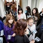 двери Филармонии буквально трещали от количества гостей