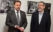 Директор Израильского культурного центра Болеслав Ятвецкий и директор МСИО Семен Кантор