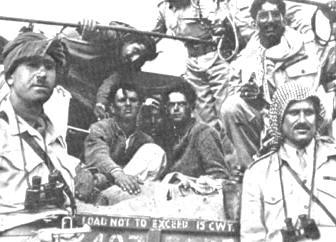Пленные поселенцы в иорданской тюрьме во время Войны за независимость. Фото: Википедия