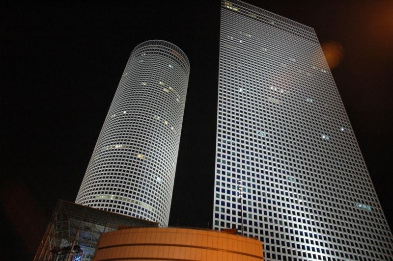 Башни делового центра «Азриэли» в Тель-Авиве
