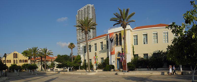 Площадь Сюзан Далаль в Тель-Авиве