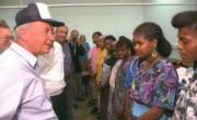 Встреча премьер-министра Ицхака Рабина с новыми репатриантами из Эфиопии, 1993 г.