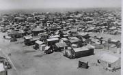Деревянные хижины и бараки для новых репатриантов. Тель-Авив, 1930 г.