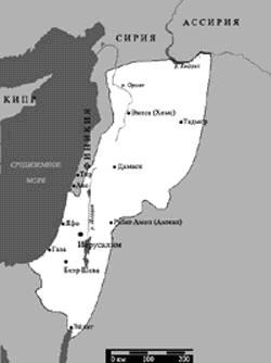 Эрец-Исраэль во времена Давида и Шломо