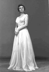Актриса Камерного театра, Хана Мерон. 1957 г.
