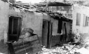 1936 г. - Дом еврейских жителей в Тель-Авиве разрушенного арабами из Яффа во время вспышки Арабского противостояние