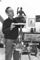 Израильский скульптор Исраэль Рубинштейн (1967)