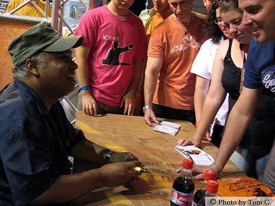 Фестивал Джаза в Эйлате. август 2007 г.