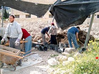 Археологические работы в Парке Эмек-Цурим
