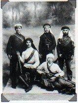 """Члены еврейской организации самообороны """"Хашомер"""" в Кфар-Сабе (1910)"""