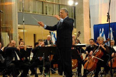 70-летие Израильского филармонического оркестра.  Дирижер Зубин Мета. Декабрь 2006 года.