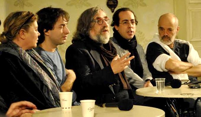 Пресс-конференция театра «Гешер»
