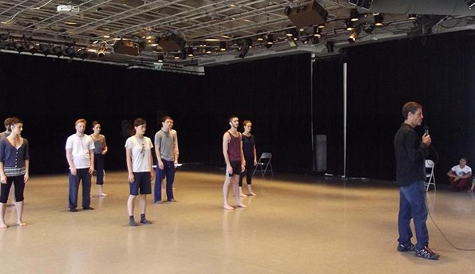 Ансамбль современного балета «Бат-Шева». Репетиция