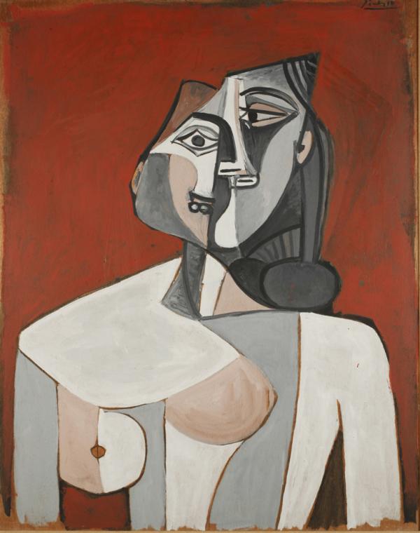 Pablo Picasso, Torso of a Woman, 1953