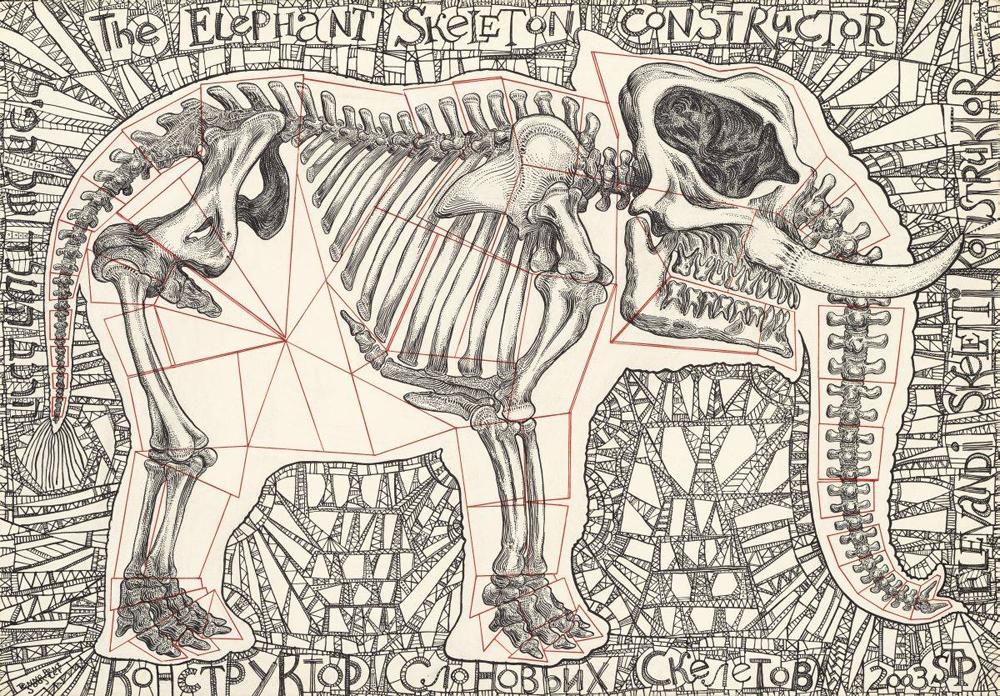 Тэнно Соостер.  Еhe Elephant Skeleton Constructor