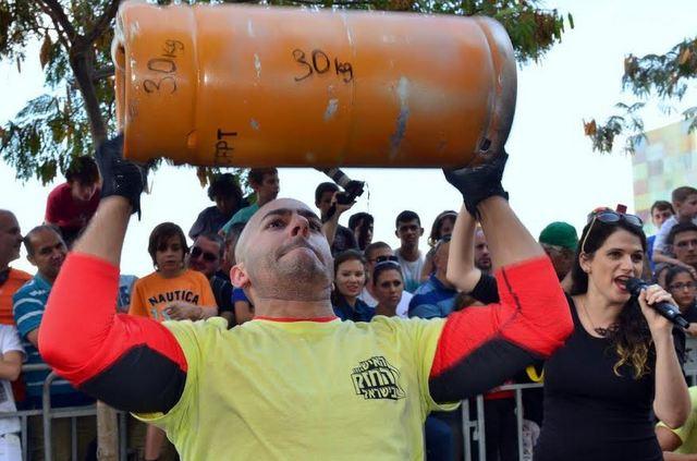 Состязания «Самый сильный человек в Израиле»