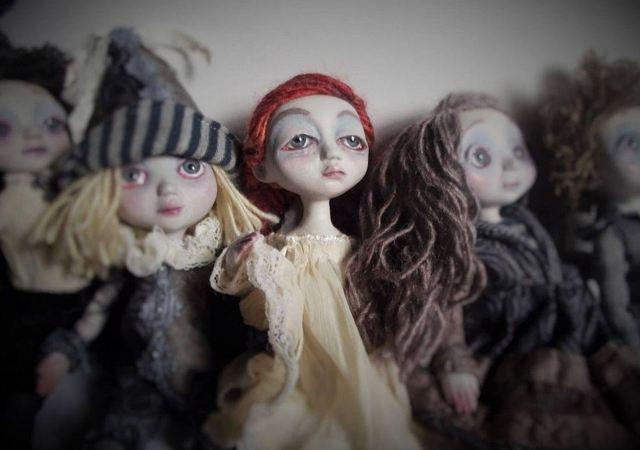 Dolls Ar#2 - авторские художественные куклы