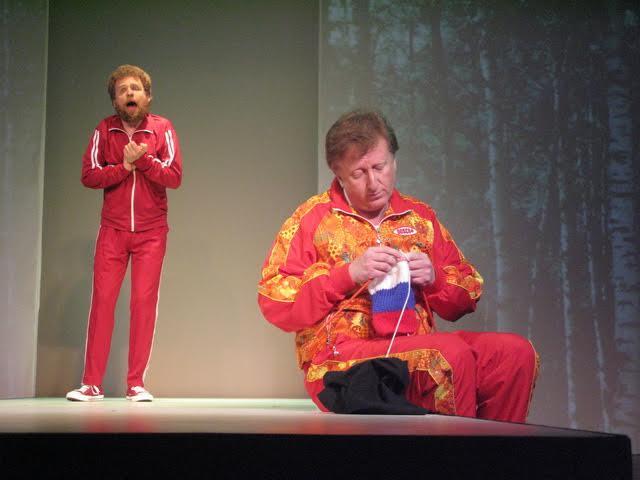 Сцена из спектакля «Чехов-шоу»