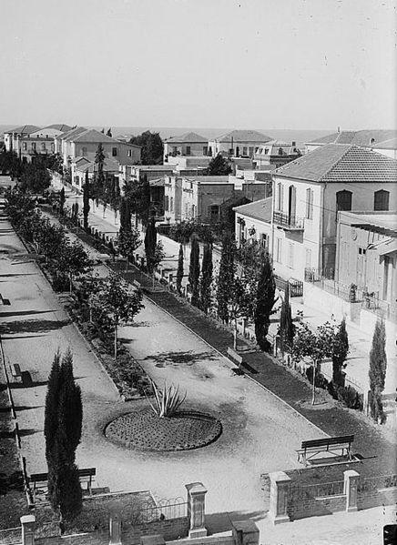 Квартал «Ахузат Байт» в Тель-Авиве