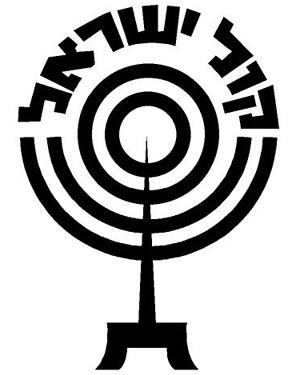 Логотип радиостанции «Голос Израиля» («Коль Исраэль»)