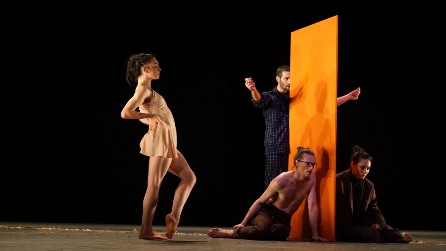 Сцена из балета «Яаг» Охада Нагарина