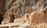 בניאס_-_גומחות_בסלע_באזור_המקדשים