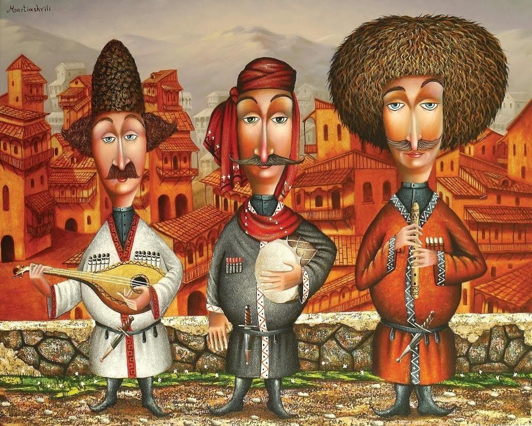 Зураб Мартиашвили. Мелодии старого Тбилиси