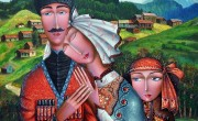 Zurab Martiashvili_Family_ oil on canvas_80x80 cm_
