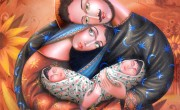 Zurab Martiashvili_Family_oil on canvas_100x80 cm_