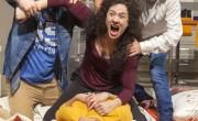 Сцена из спектакля 1Нехорошие евреи». Фото: Жерар Алон