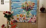 Работа Маши Потапенковой. Картина и инсталляция. Выставка «Натюрморт» в иерусалимской галерее «Скицца»