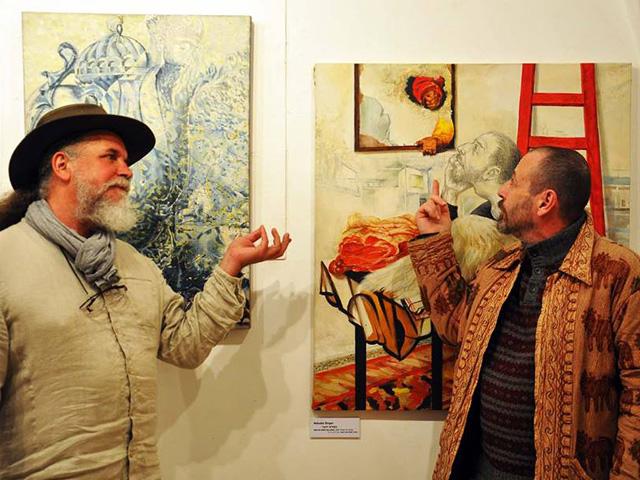 Выставка «Натюрморт» в Иерусалимской галерее «Скицца»
