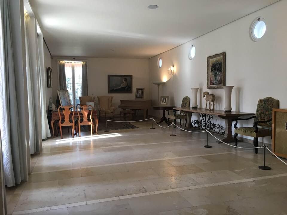 Гостиная в доме Вейцмана