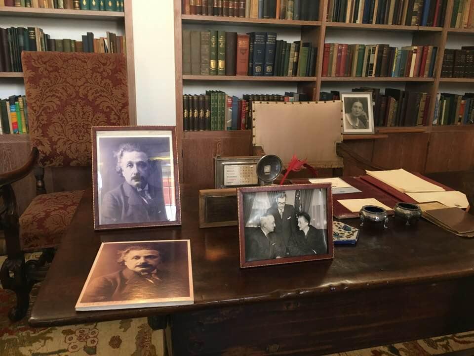 Рабочий кабинет Хаима Вейцмана
