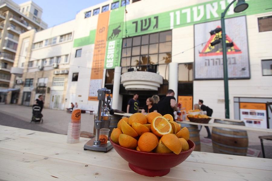 Яффские апельсины - символ фестиваля Jaffa Fest