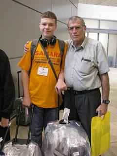 Йешаяху Йехиэли с участником программы НААЛЕ