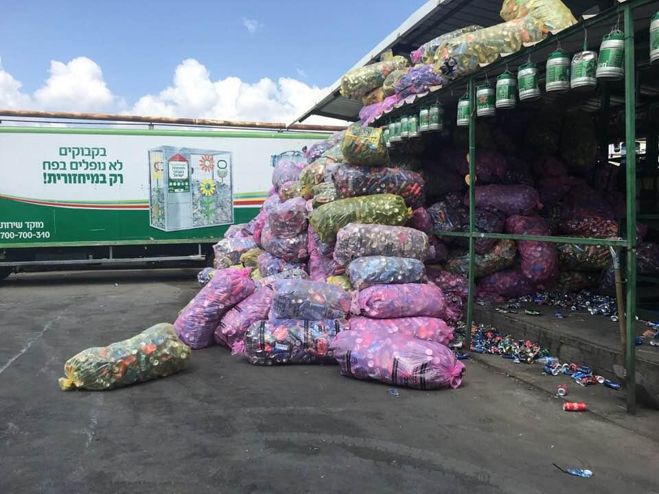 Завод по переработке вторичного сырья в Израиле
