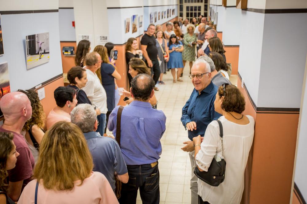 Открытие выставки «Новый взгляд на Тель-Авив»