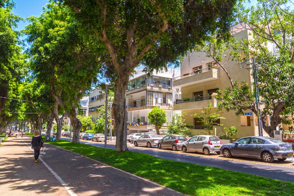 Тель-авивский бульвар