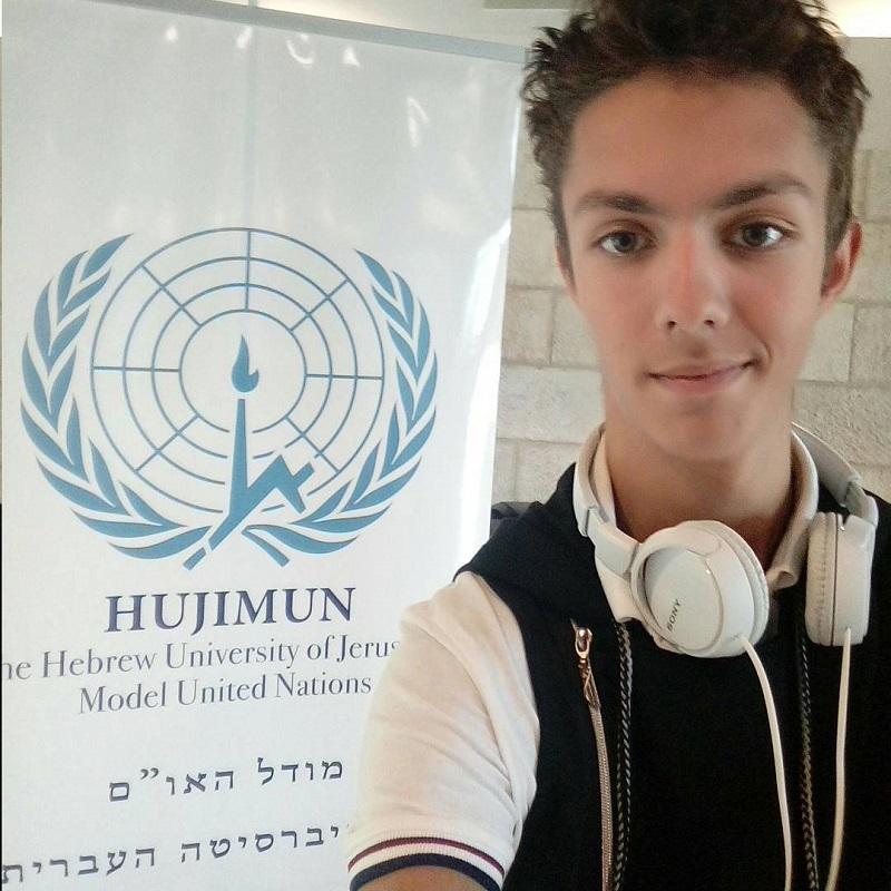 Михаил Гольдштейн – студент Еврейского университета