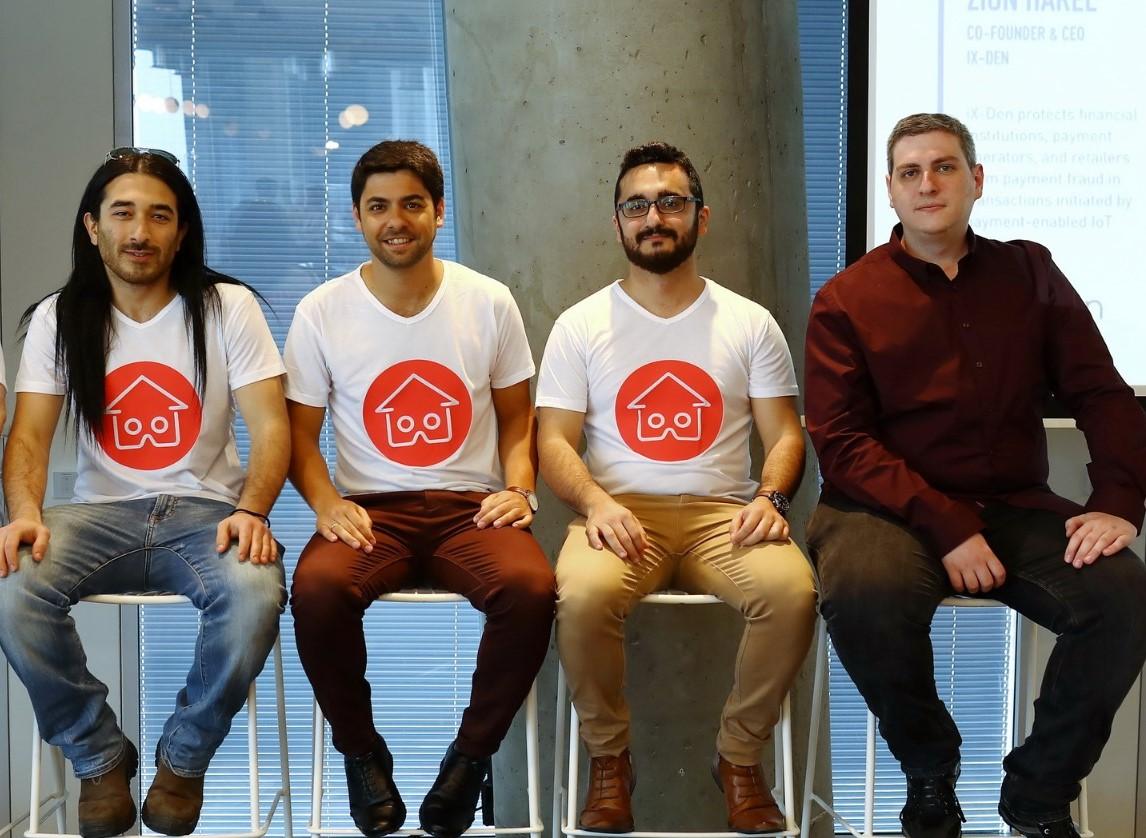 Слева направо: Ханан Исраэлевич, Алон Нафтали, Михаил Калантаров, Андрей Саломон
