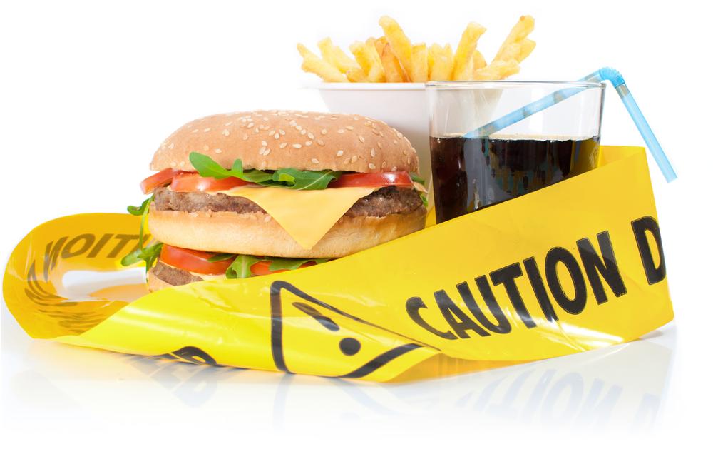 Внимание: пища, ведущая к ожирению