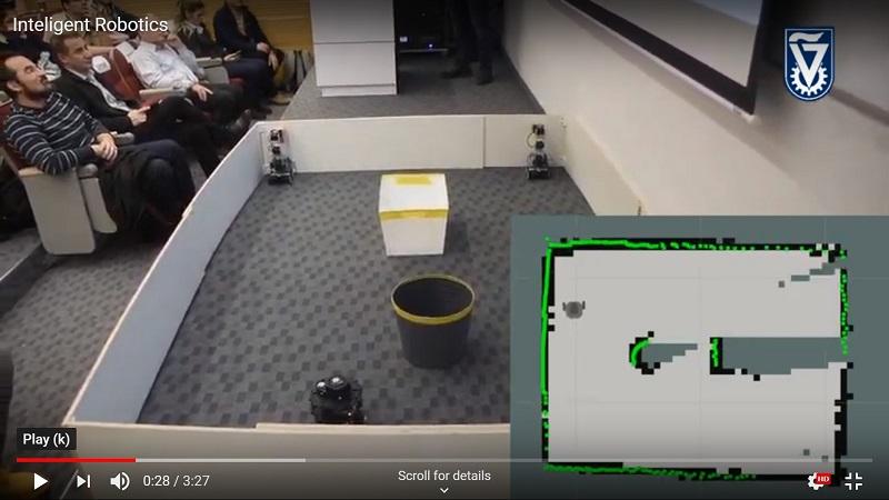 «Умный» робот картографирует помещение и определяет место, форму и размеры контейнеров